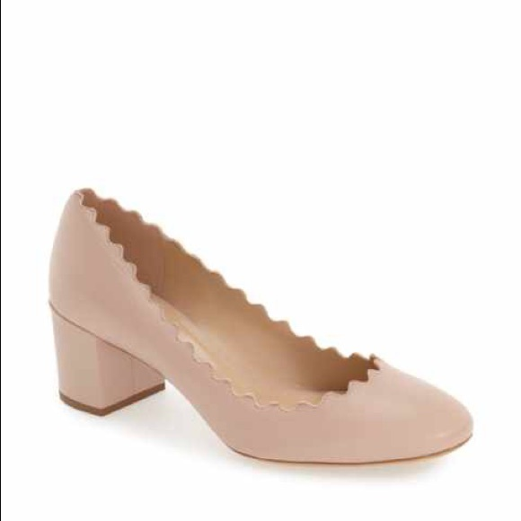 7728c6fab68 Chloe Shoes - Chloe Lauren Scalloped Pump